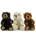 peluche-anima Peluche Ours assis mini 11cm
