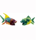 peluche-anima Peluche Poisson (2 couleurs assort) 24cm