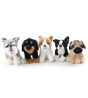 peluche-anima Peluches chiens assortis 18 cm
