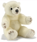 peluche-anima Peluche Ourson flocon 40cm