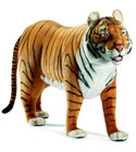 Tigre 125cm de long peluche-anima