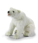 peluche-anima Peluche ours polaire assis 38 cm